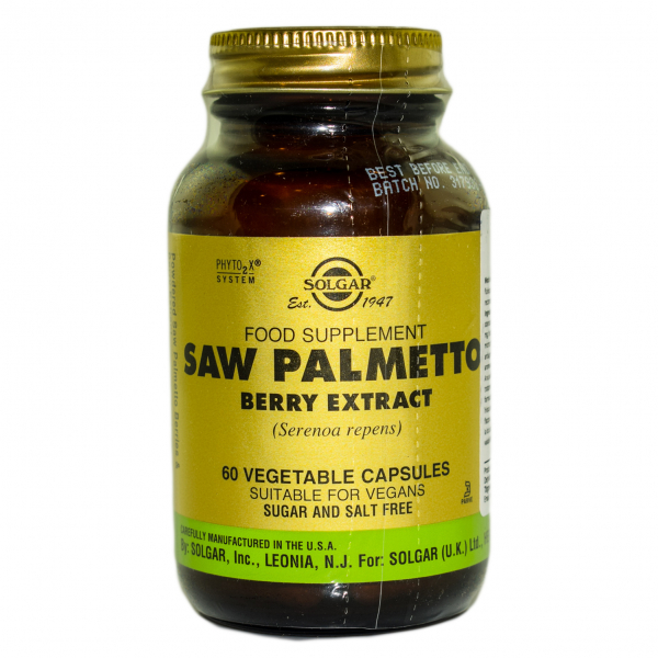 Saw Palmetto, 60 capsule, Solgar 0
