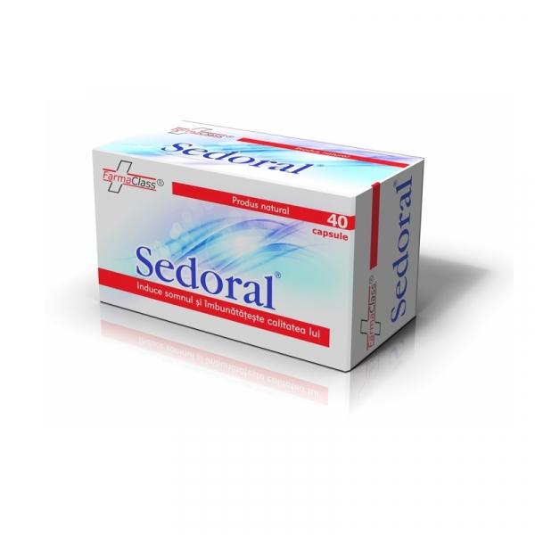 Sedoral, 40 capsule, Farma Class 0