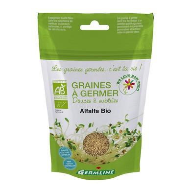 Seminte de alfalfa pt. germinat bio 150g 0