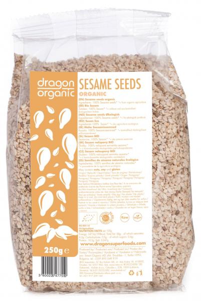 Seminte de susan integral raw bio 250g 0