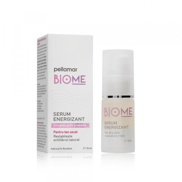 Serum energizant pentru ten uscat Biome, 50 ml, Pellamar [0]