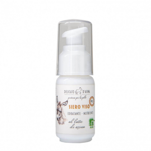 Serum facial hidratant si regenerant cu lapte de magarita, BIO, La Dispensa, 30 ml 0