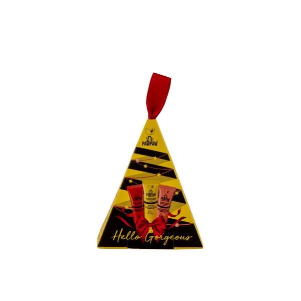 Set cadou Mini Christmas Tree (Original, Peach Red), 30 ml, Dr PawPaw 1