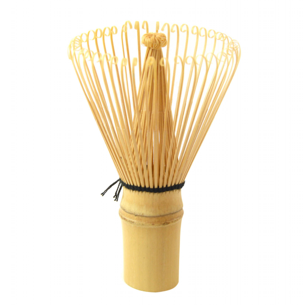 Set complet Matcha BIO Infused Ceremonial, bol, pamatuf si masura bambus 4