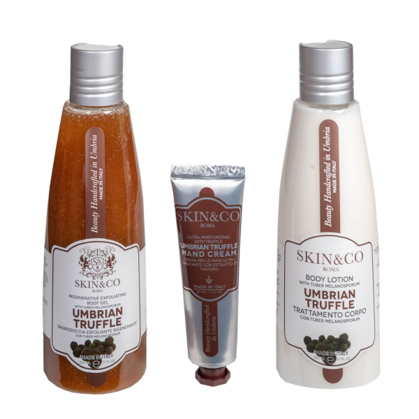 Set ingrijire corporala, Umbrian Truffle - Skin&Co Roma 1