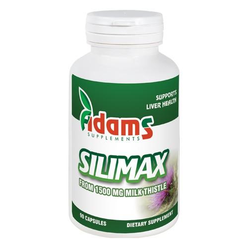Silimax 1500mg ,90 tablete, Adam Vision 0