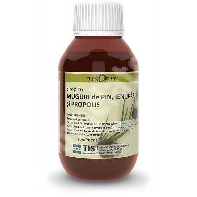 Sirop cu Muguri de Pin, Ienupar si Propolis, 100 ml, Tis Farmaceutic [0]