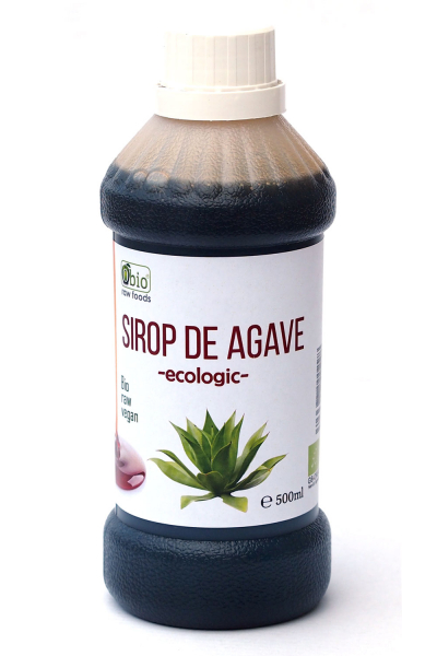 Sirop de agave dark raw bio 500ml 0