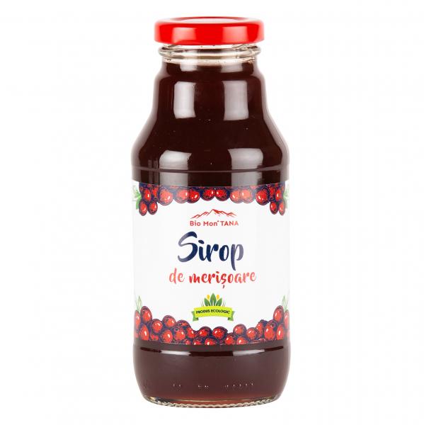 Sirop de merisoare, 330 ml, Bio MonTANA 0