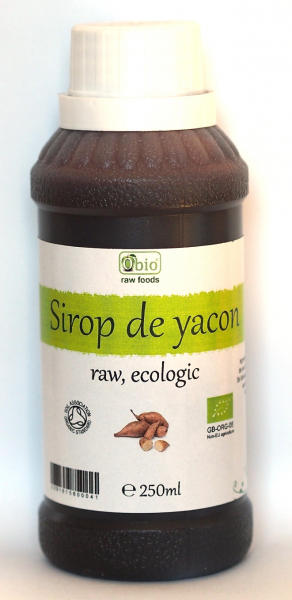 Sirop de yacon raw bio 250ml 0