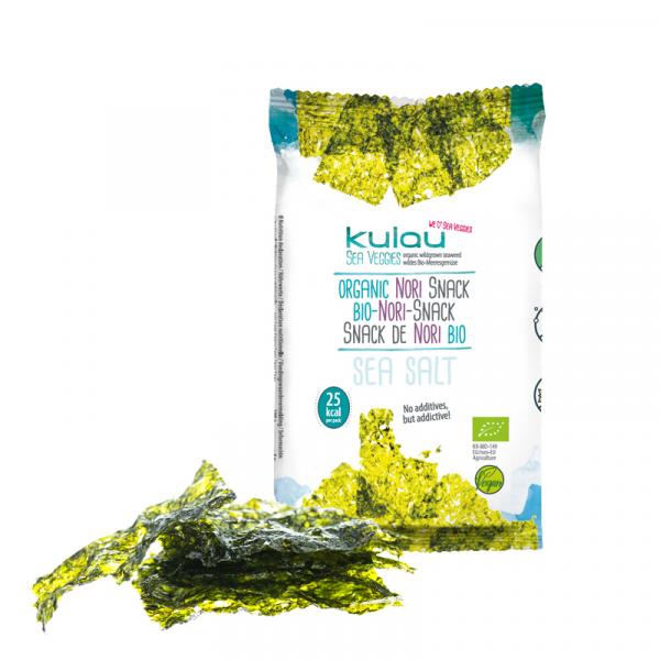 Snack din alge nori bio 4g 0