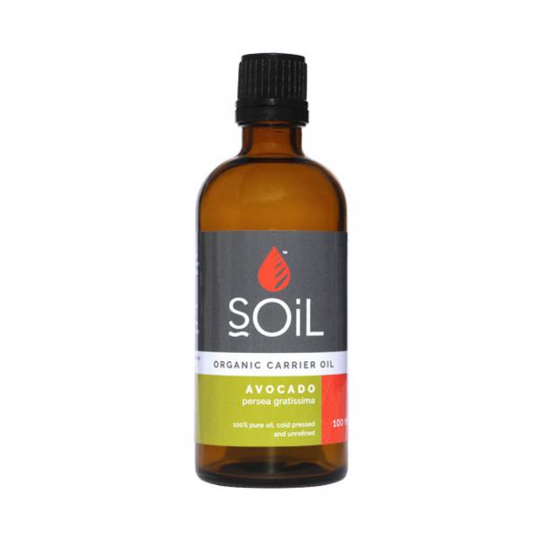 SOiL Ulei Baza Avocado 100% Organic ECOCERT 100ml 0