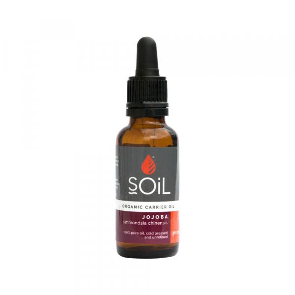 SOiL Ulei Baza Jojoba 100% Organic ECOCERT 30ml 0