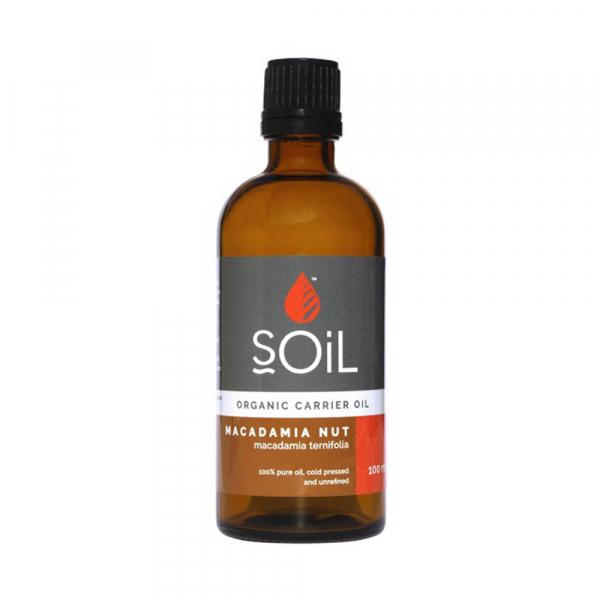 SOiL Ulei Baza Macadamia Nut - Nuci de Macadamia - 100% Organic ECOCERT 100ml 0