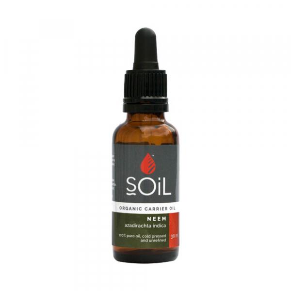 SOiL Ulei Baza Neem 100% Organic ECOCERT 30ml 0