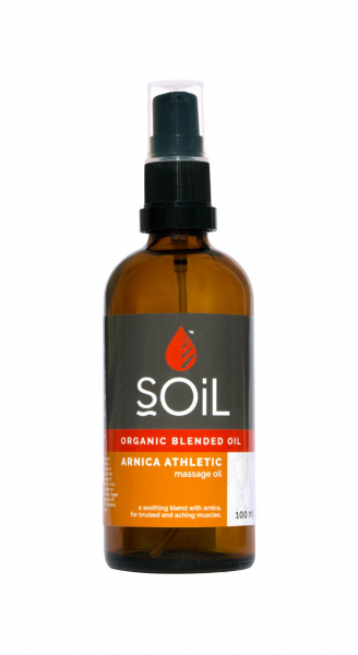 SOiL Ulei Blend Masaj Arnica Athletic 100% Organic ECOCERT 100ml 0
