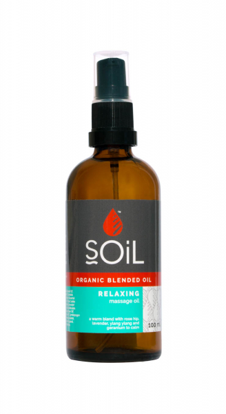 SOiL Ulei Blend Masaj Relaxing 100% Organic ECOCERT 100ml 0