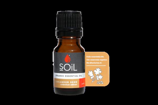 SOiL Ulei Esential Coriander - Coriandru - Seed 100% Organic ECOCERT 10ml 0