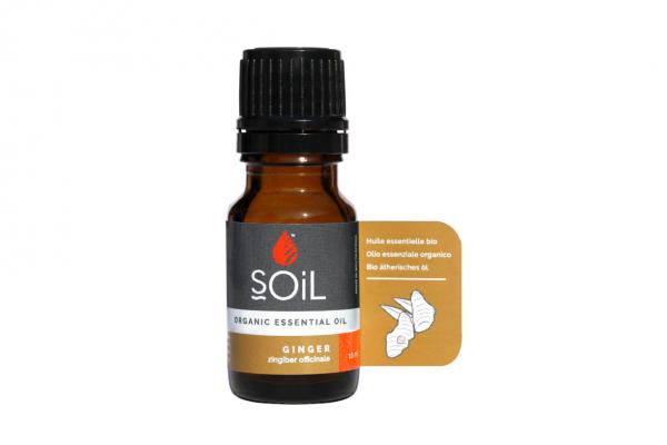 SOiL Ulei Esential Ginger - Ghimbir - 100% Organic ECOCERT 10ml 0