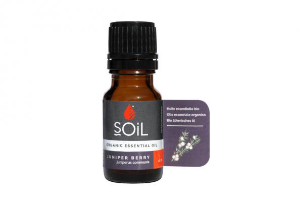 SOiL Ulei Esential Juniper - Ienupar 100% Organic ECOCERT 10ml 0