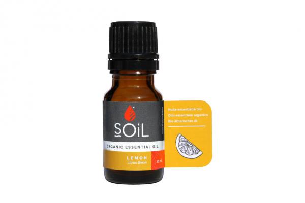 SOiL Ulei Esential Lemon 100% Organic ECOCERT 10ml 0