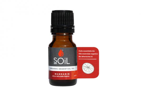 SOiL Ulei Esential Mandarin - Mandarina - 100% Organic ECOCERT 10ml 0