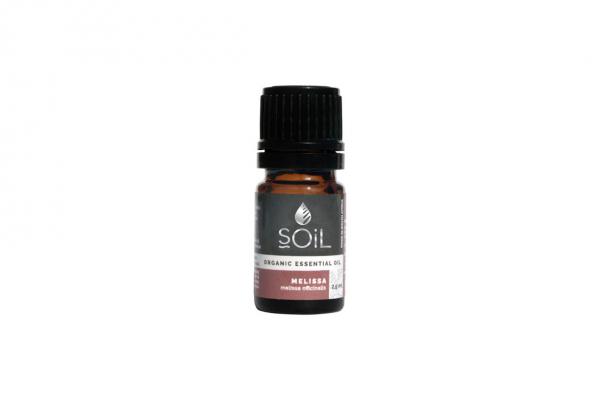 SOiL Ulei Esential Melissa - Roinita - 100% Organic ECOCERT 2.5ml 0