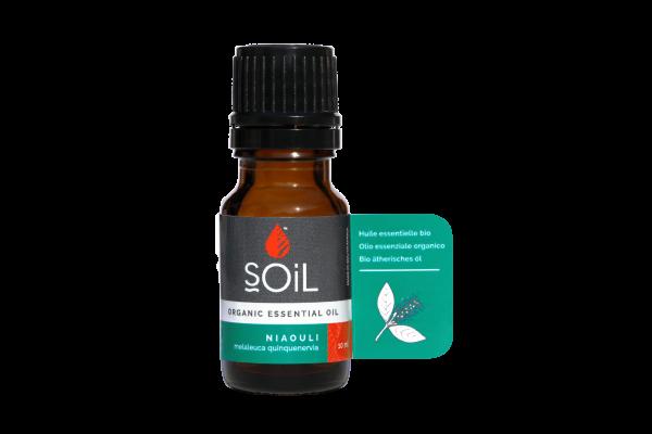 SOiL Ulei Esential Niaouli 100% Organic ECOCERT 10ml 0
