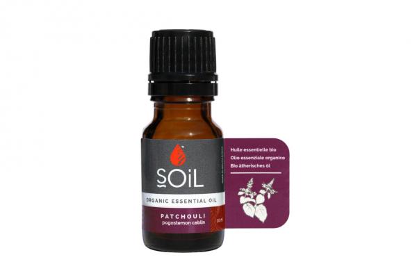 SOiL Ulei Esential Patchouli 100% Organic ECOCERT 10ml 0