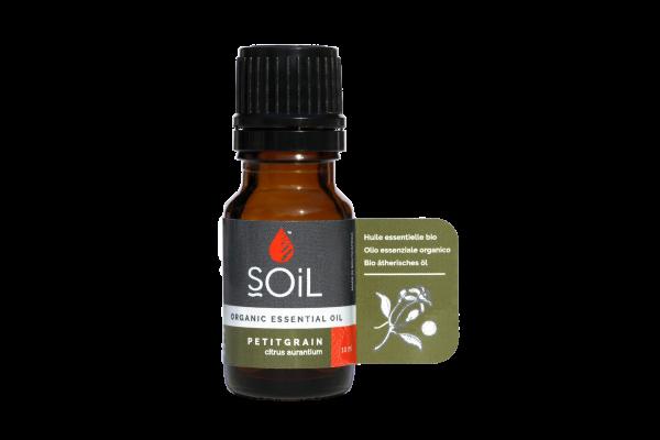 SOiL Ulei Esential Petitgrain 100% Organic ECOCERT 10ml 0