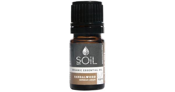SOiL Ulei Esential Sandalwood - Santal - 100% Organic ECOCERT 2.5ml [0]