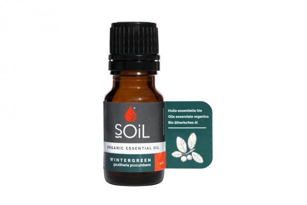 SOiL Ulei Esential Wintergreen - Perisor 100% Organic ECOCERT 10ml 0