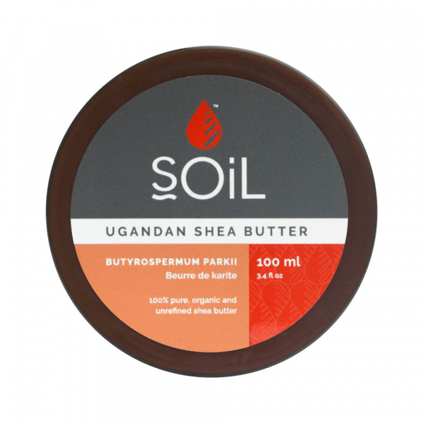 SOiL Unt Shea Fair Trade Pur Inodor 100% Organic ECOCERT 100ml 0