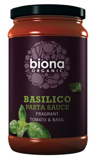 Sos de rosii cu busuioc Basilico eco 350g BIONA 0