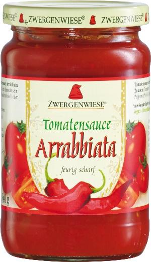 Sos bio de tomate Arrabbiata cu ardei iute 0
