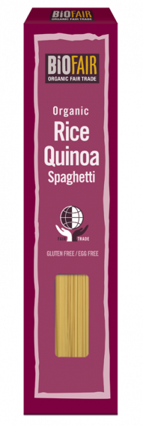 Spaghetti din orez si quinoa fara gluten bio 250g 0