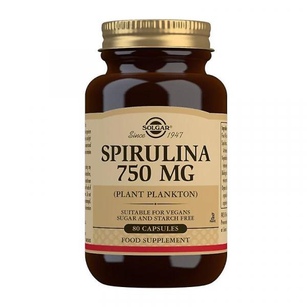 Spirulina 750 mg 80cpr SOLGAR 0