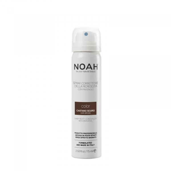 Spray corector cu vitamina B5 pentru acoperirea radacinii parului - CASTANIU INCHIS, Noah, 75 ml [0]