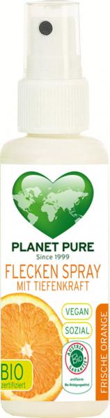 Spray pentru pete bio cu ulei de portocale 50ml Planet Pure 0