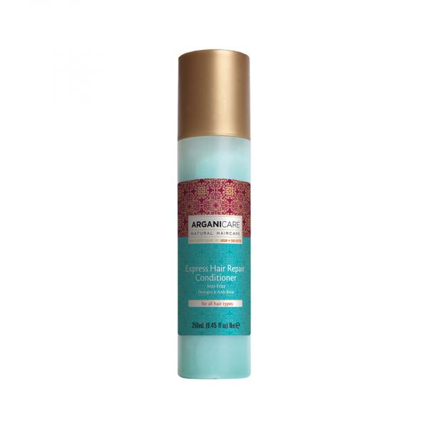 Spray reparator express fara clatire cu ulei de argan, pentru toate tipurile de par, Arganicare, 250 ml [0]