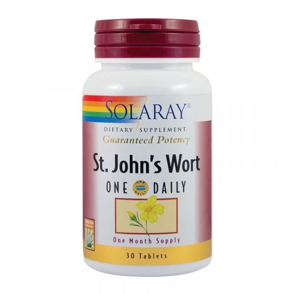 St John's Wort Sunatoare extract 900mg, 30 tablete, Solaray [0]
