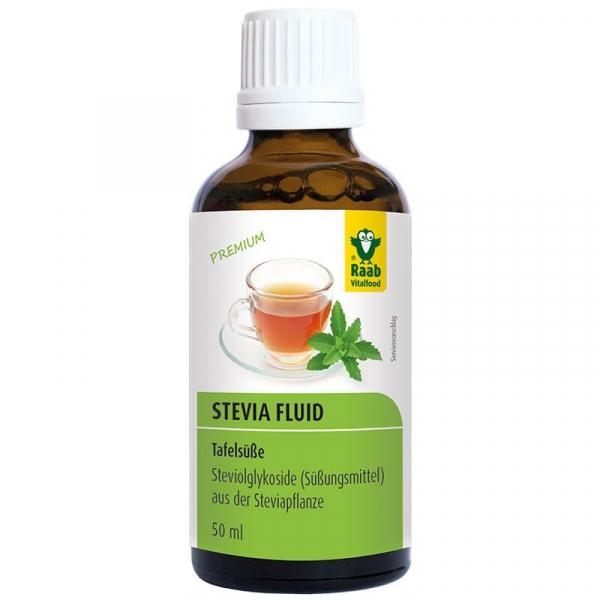 Stevia indulcitor lichid premium 50ml RAAB 0