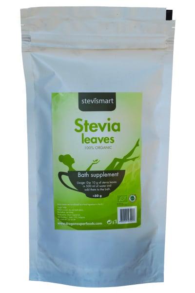 Stevia (stevie) frunze uscate raw bio 50g 0