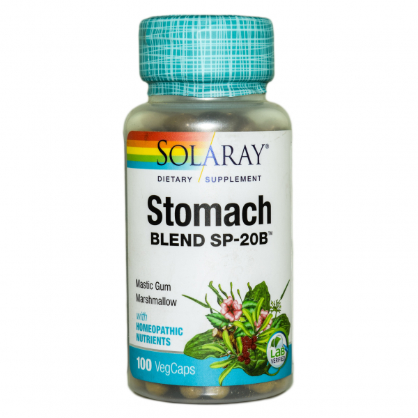 Stomach Blend Solaray, 100 capsule 0
