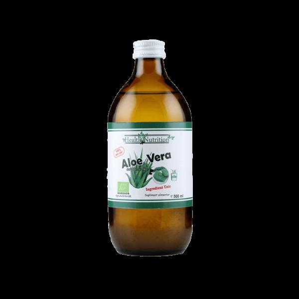 Suc de aloe cu micropulpa 100% pur, Bio 0