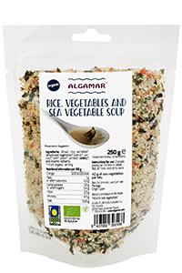 Supa cu gris din orez si alge marine bio 250g 0