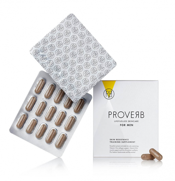 Supliment alimentar pentru barbati Skin resistance training, 60 cps, Proverb 1