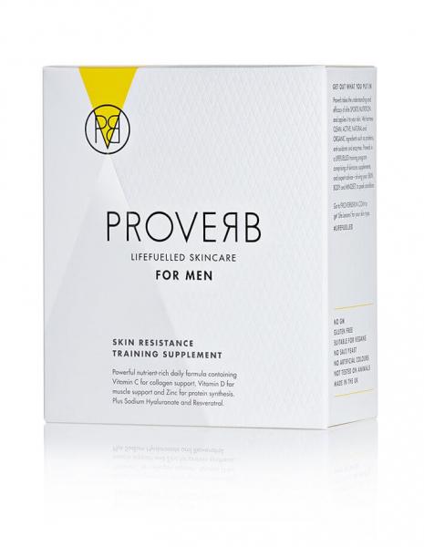 Supliment alimentar pentru barbati Skin resistance training, 60 cps, Proverb 0
