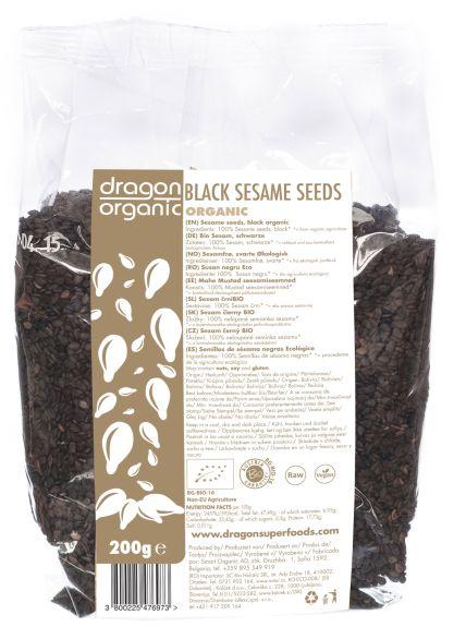 Seminte de susan negru eco 200g 0