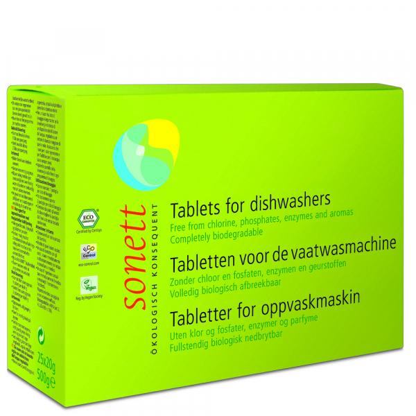 Tablete ecologice pt. masina de spalat vase 800buc x 20g Sonett 0